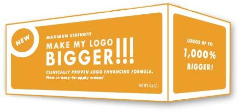 Make my logo bigger logo