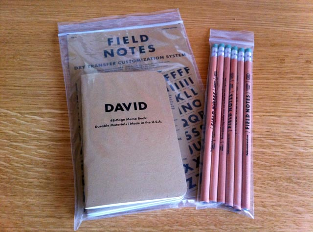Field Notes Prize