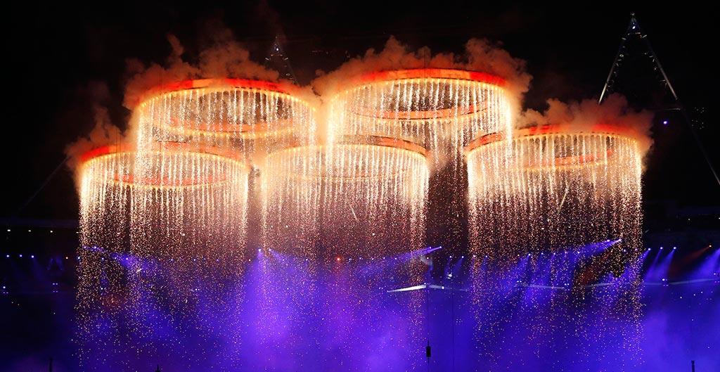 Isles of Wonder Olympic Rings