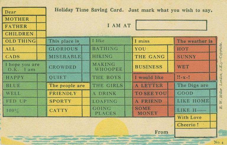 all purpose postcard