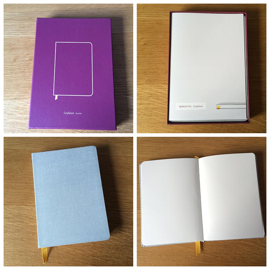 Baron Fig Notebook Unboxing