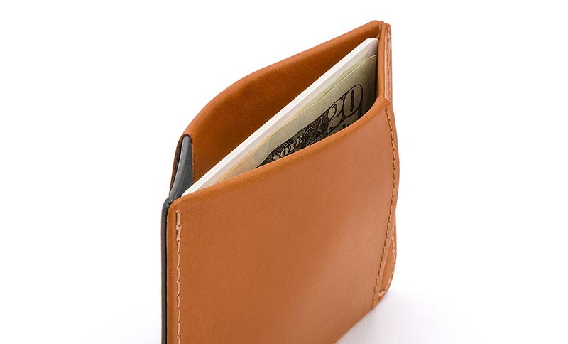 Bellroy Micro Sleeve Wallet note slot