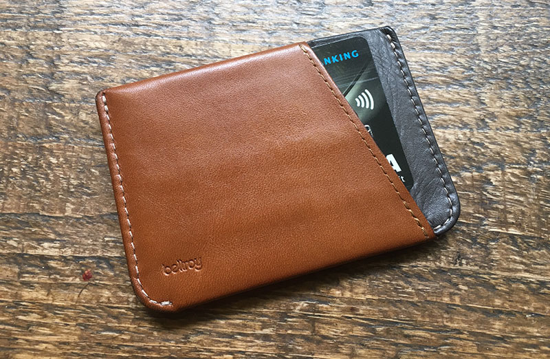 Bellroy Micro Sleeve Wallet patina