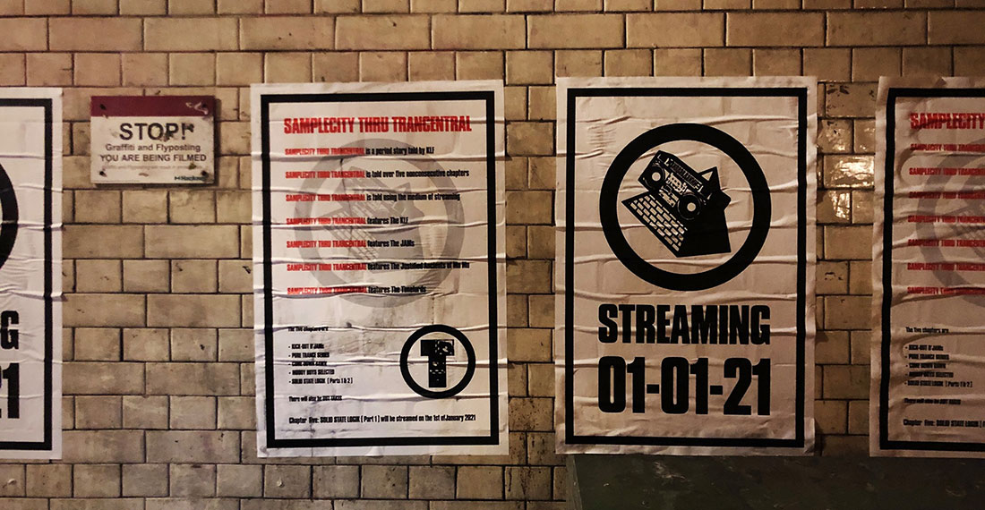Posters promoting the KLF coming to streaming on January 1 2021